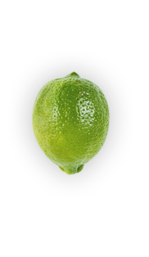 Limes - Limes have thinner skins than lemons, and are typically harvested before they're ripe while they're sweet and green. But this is no accident, as a truly ripe lime is quite bitter and much yellower in color.  - via: Evolution Fresh