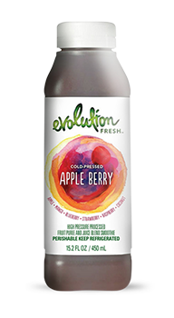 Evolution Fresh | Apple Berry |  Cold-Pressed Smoothie