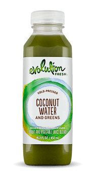 Evolution Fresh | Coconut Water and Greens |   Cold-Pressed Juice