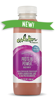 Evolution Fresh | Protein Power Berry |  Cold-Pressed Smoothie