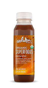 Evolution Fresh | Organic Superfoods Cocoa Spice |  Cold-Pressed Smoothie
