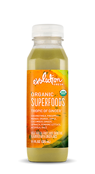 Evolution Fresh | Organic Superfoods Tropic of Ginger™ |  Cold-Pressed Smoothie
