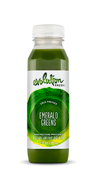 Evolution Fresh | Emerald Greens |   Cold-Pressed Juice