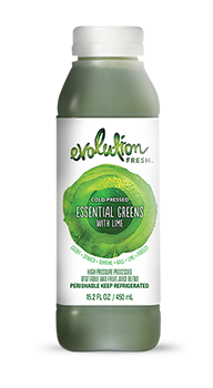 Evolution Fresh | Essential Greens with Lime |   Cold-Pressed Juice