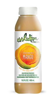 Evolution Fresh | Mango |  Cold-Pressed Smoothie