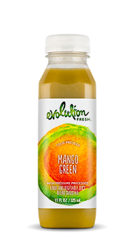 Evolution Fresh | Mango Green |  Cold-Pressed Smoothie