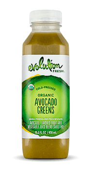 Evolution Fresh | Organic Avocado Greens |  Cold-Pressed Smoothie