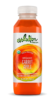 Evolution Fresh | Organic Carrot Apple |   Cold-Pressed Juice