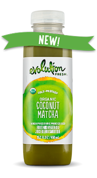 Evolution Fresh | Organic Coconut Matcha |   Cold-Pressed Juice