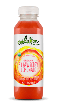 Evolution Fresh | Organic Strawberry Lemonade |   Cold-Pressed Juice