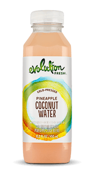 Evolution Fresh | Pineapple Coconut Water |   Cold-Pressed Juice