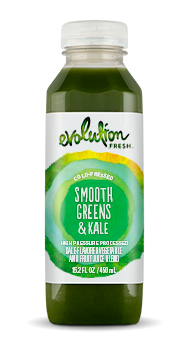 Evolution Fresh | Smooth Greens & Kale |   Cold-Pressed Juice