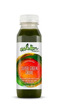 Evolution Fresh | Super Green Grove |  Cold-Pressed Smoothie
