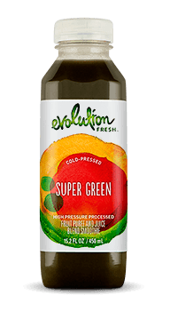 Evolution Fresh | Super Green |  Cold-Pressed Smoothie