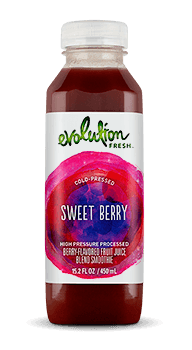 Evolution Fresh | Sweet Berry |  Cold-Pressed Smoothie