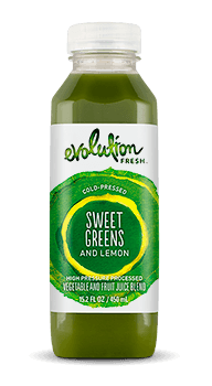 Evolution Fresh | Sweet Greens and Lemon |   Cold-Pressed Juice