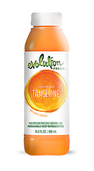 Evolution Fresh | Tangerine |   Cold-Pressed Juice